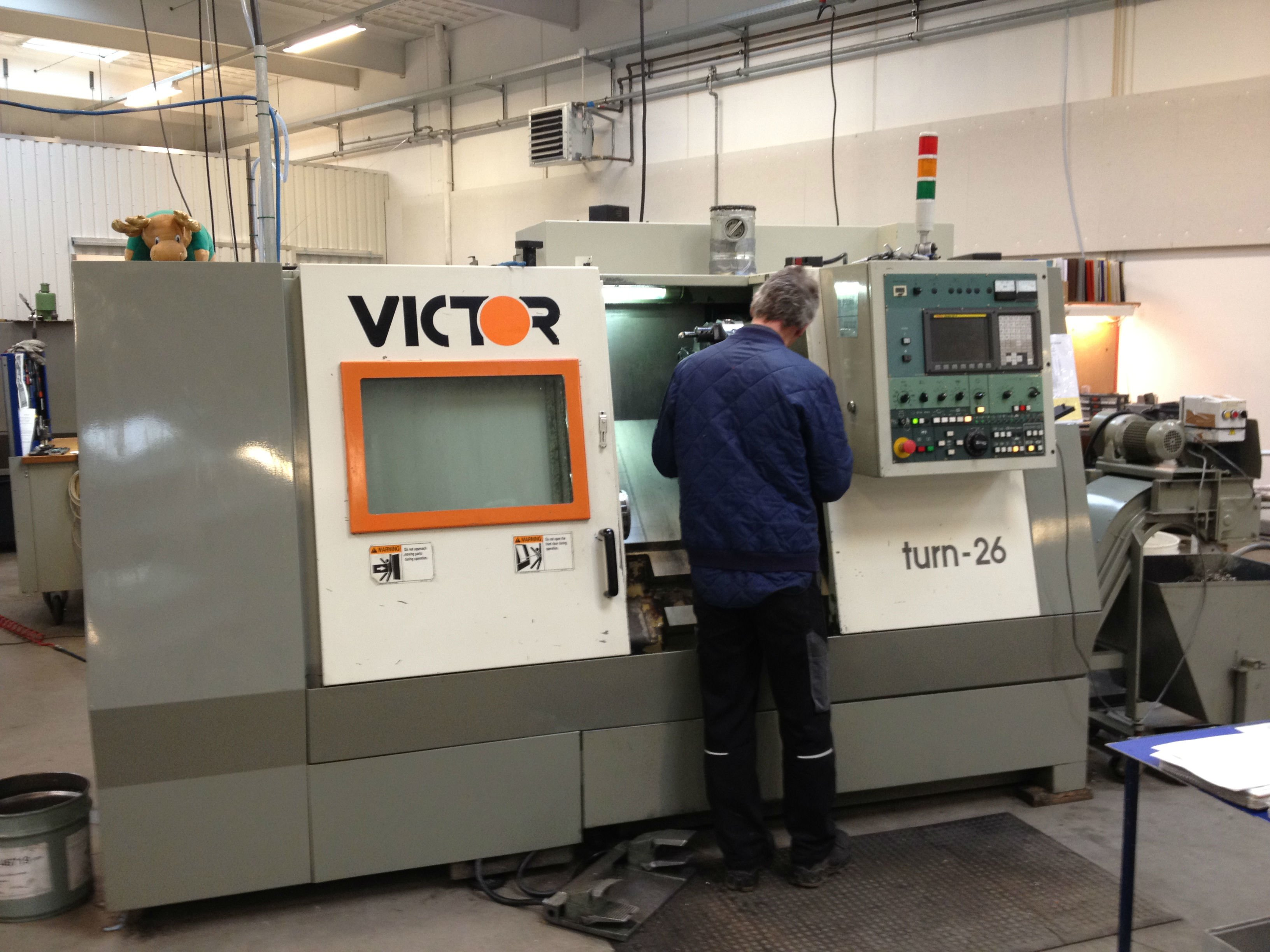 Victor turn-26 CNC machine